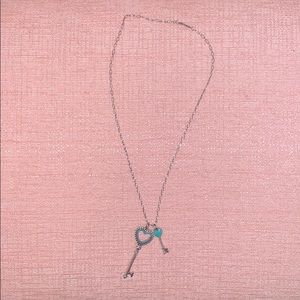Tiffany & Co. Key Necklace